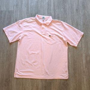 IZOD LACOSTE 'Like New' Men's Pink S/S Size XXL